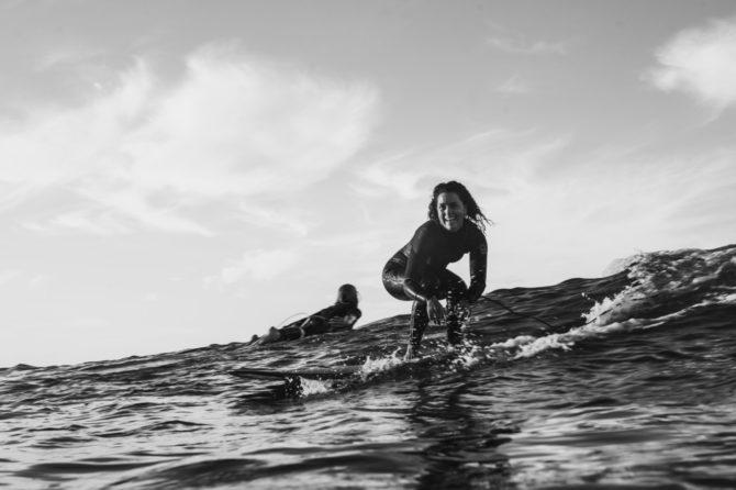 Les elles Surf à Imsouane