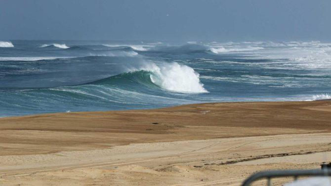 Hossegor sous confinement