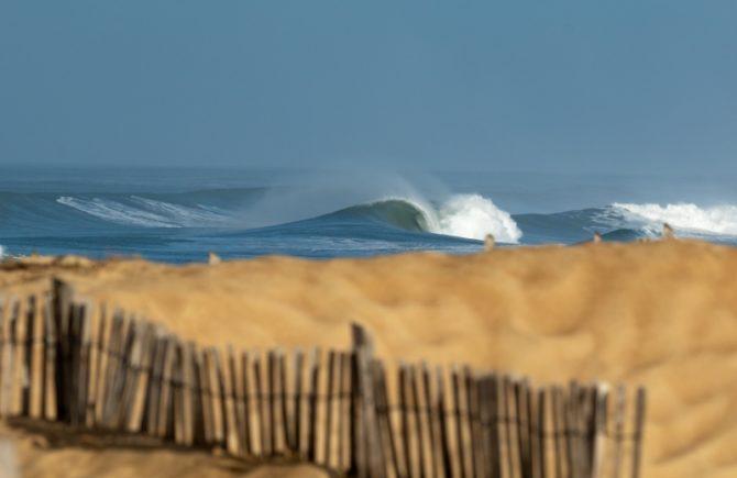 Les meilleures images d'un extraordinaire mois de surf à Hossegor